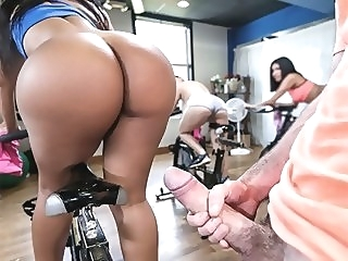 Rose Monroe in Rose's Sexercise - AssParade pornstar latina big ass