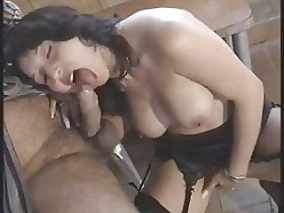 Pretty Italian woman rear fucked by older man old & italian